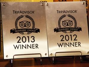 Trip Advisor 2012 2013