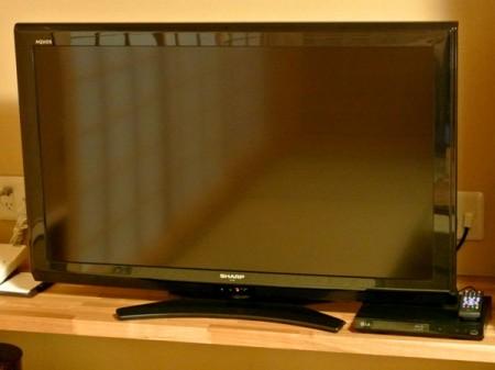 悠久の華 全室にDVD/Blu-rayプレーヤーを設置