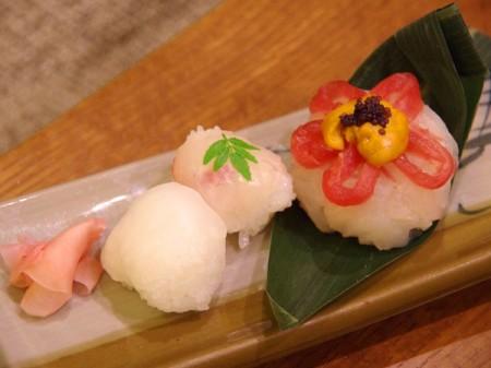 連泊様向け 創作寿司  2012年11月28日