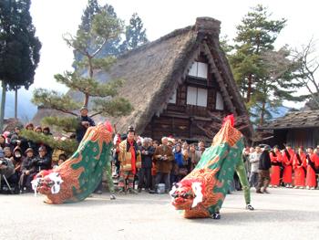 2012 下呂温泉 田の神祭り 【国重要指定文化財】2